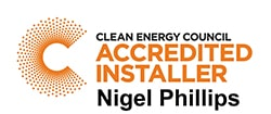 Clean Energy Council Accredited installer - Nigel Phillips Toowoomba.