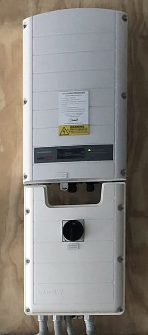SolarEdge Inverter.
