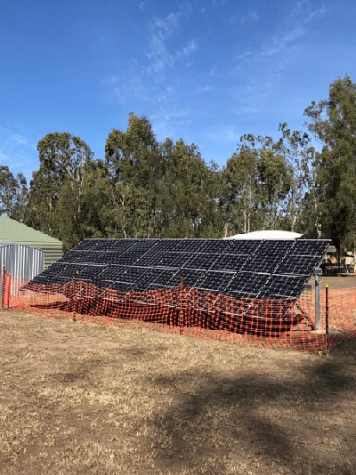 Solar Panels Installed in Helidon.