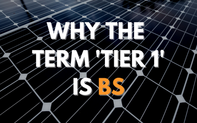 The Truth about Tier 1 Solar Panels