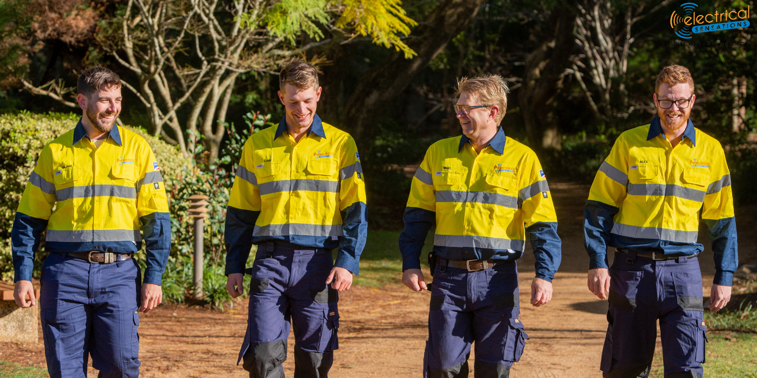 Electrical Sensations Team. Local Solar Installers Toowoomba